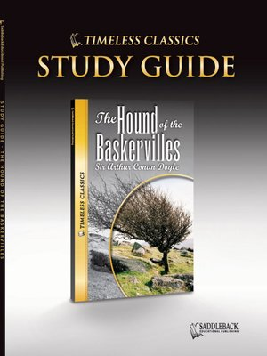 cover image of The Hound of the Baskervilles Study Guide