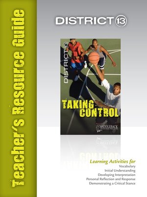 cover image of Taking Control Teacher's Resource Guide