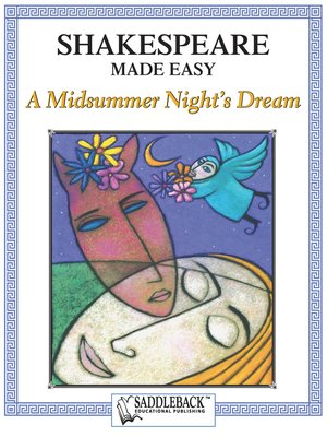 cover image of Midsummer Night's Dream, A Shakespeare Made Easy