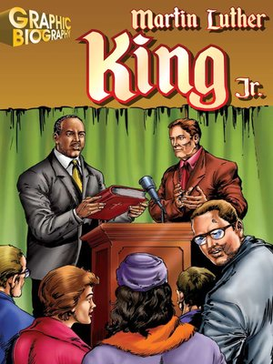 cover image of Martin Luther King Jr Graphic Biography