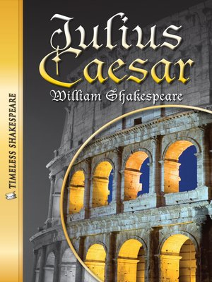 cover image of Julius Caesar Paperback Book