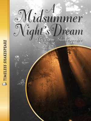 cover image of A Midsummer Night's Dream Paperback Book