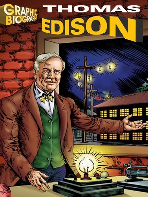 cover image of Thomas Edison Graphic Biography