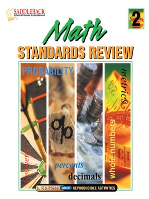 cover image of Math Standards Review Binder 2