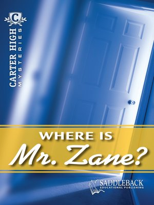 cover image of Where is Mr. Zane?