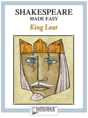 cover image of King Lear, Shakespeare Made Easy