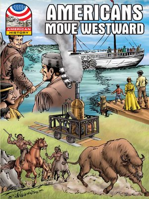 cover image of Americans Move Westward 1800-1850
