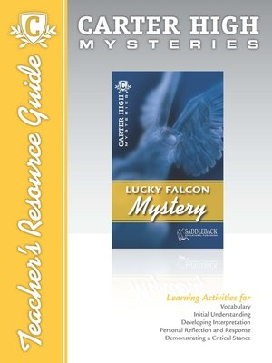 cover image of Lucky Falcon Mystery Teacher's Resource Guide