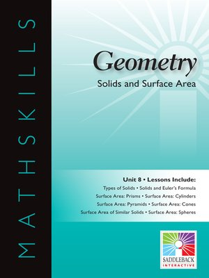 cover image of Geometry: Solids and Surface Area