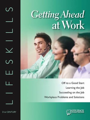 cover image of Getting Ahead at Work