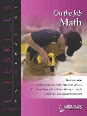 cover image of On the Job Math