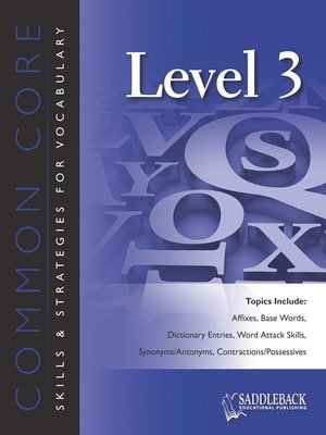 cover image of Common Core Skills and Strategies for Reading Level 3