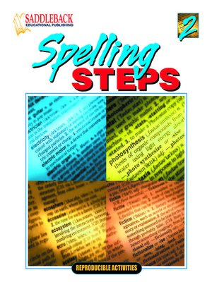 cover image of Spelling Steps 2