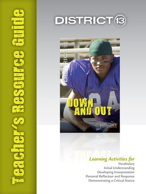 cover image of Down and Out Teacher's Resource Guide