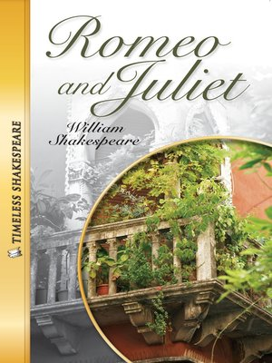 cover image of Romeo and Juliet Paperback Book