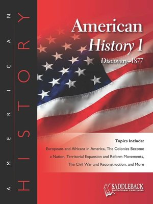 cover image of American History 1