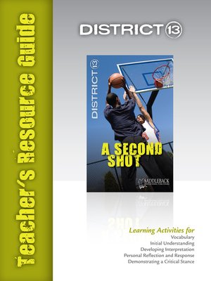 cover image of A Second Shot Teacher's Resource Guide