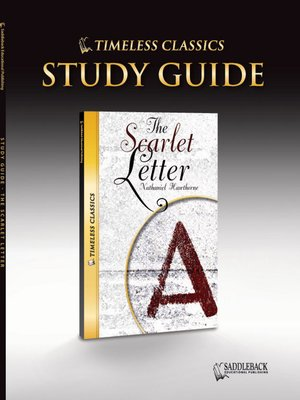 The Scarlet Letter Study Guide by Saddleback Educational Publishing