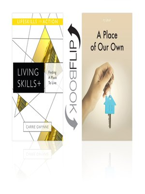 cover image of Finding a Place to Live/A Place of Our Own (Living Skills)