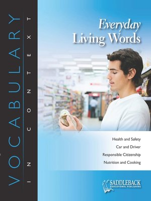 cover image of Everyday Living Words