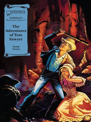 cover image of The Adventures of Tom Sawyer Graphic Novel
