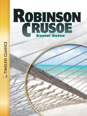 cover image of Robinson Crusoe