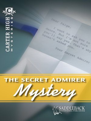 cover image of Secret Admirer Mystery