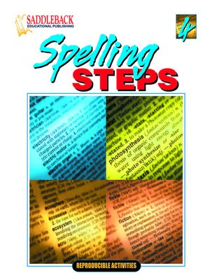 cover image of Spelling Steps 4