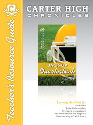 cover image of Back-Up Quarterback