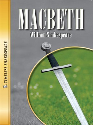 cover image of Macbeth Paperback Book