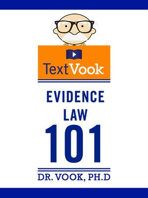 cover image of Evidence Law 101