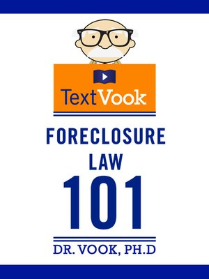 cover image of Foreclosure Law 101