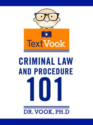 cover image of Criminal Law and Procedure 101