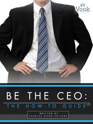 cover image of Be the CEO