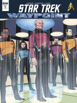 cover image of Star Trek: Waypoint (2016), Issue 1