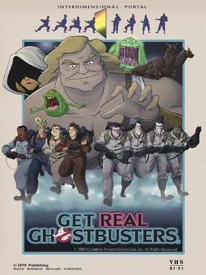 cover image of Ghostbusters: Get Real