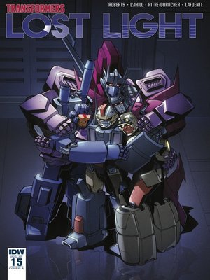 cover image of Transformers: Lost Light (2016), Issue 15