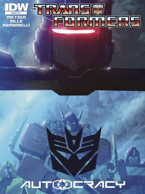 cover image of Transformers: Autocracy (2012), Issue 3