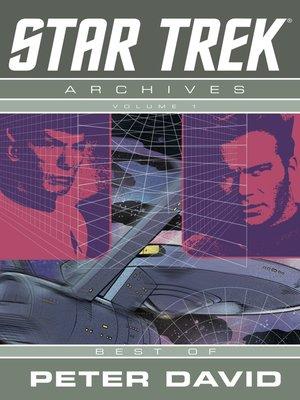 cover image of Star Trek Archives, Volume 1