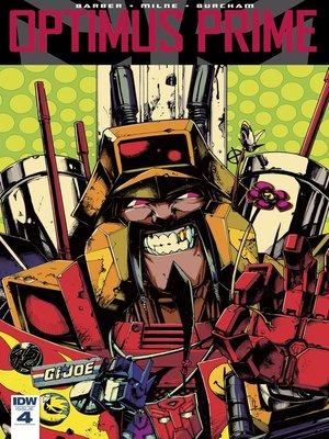 cover image of Optimus Prime (2016), Issue 4