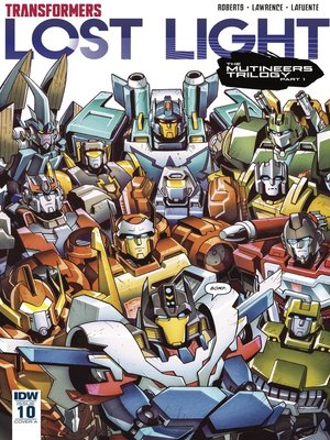 cover image of Transformers: Lost Light (2016), Issue 10