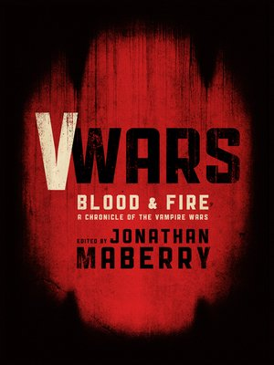 cover image of V-Wars: Blood and Fire