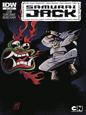 cover image of Samurai Jack (2013), Issue 5