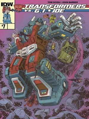 cover image of Transformers vs. G.I. Joe (2014), Issue 7