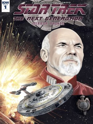 cover image of Star Trek: The Next Generation: Mirror Broken (2017), Issue 1