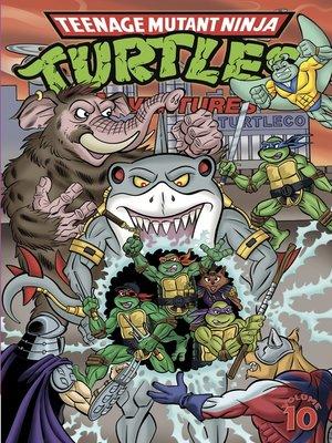 cover image of Teenage Mutant Ninja Turtles Adventures (1989), Volume 10