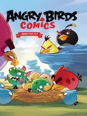 cover image of Angry Birds Comics, Volume 2