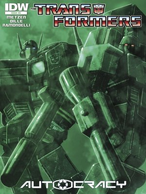 cover image of Transformers: Autocracy (2012), Issue 8