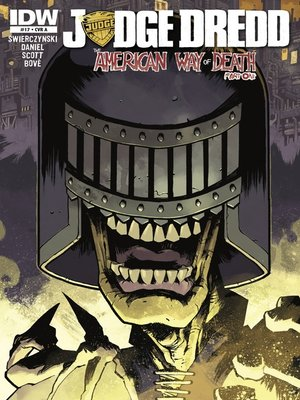 cover image of Judge Dredd (2012), Issue 17
