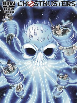 cover image of Ghostbusters (2011), Issue 4